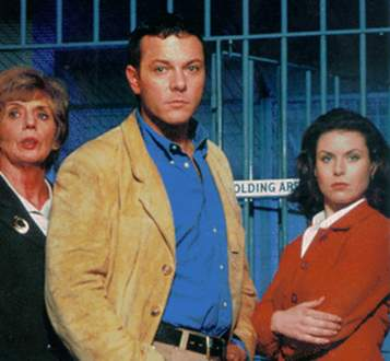 Publicity shot of grisham, Slade and Holly